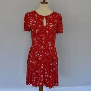 Kimchi Blue red dress
